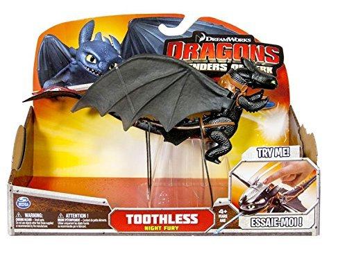 Dragons Drachenzähmen Ohnezahn mit Sturzangriff Actionfigur 30cm