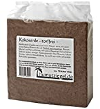 Humusziegel - 350 L dekorative Rindenmulch Beetdekor Alternative - 5 x 70 Liter