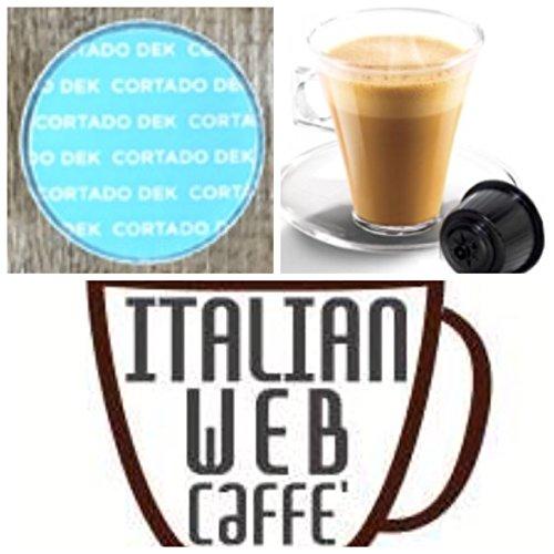 80 capsule CORTADO DECAFFEINATO compatibili Nescafè Dolce gusto