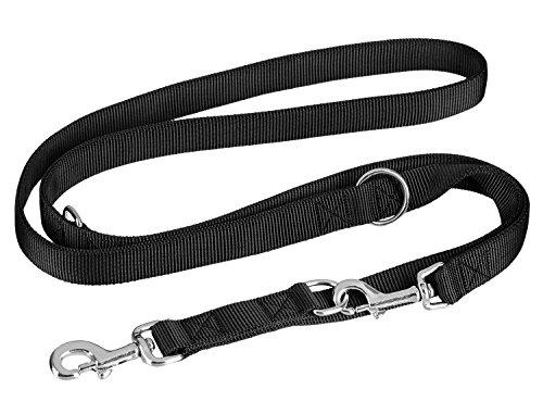 vitazoo-correa-de-perro-premium-en-negro-grafito-resistente-y-ajustable-en-4-longitudes-14-m-21-m-co