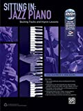 sitting in jazz piano backing tracks and improv lessons book dvd rom by baerman noah allen jen 2014 paperback