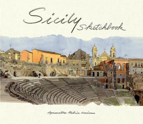 Sicily Sketchbook por Edith de la Heronniere