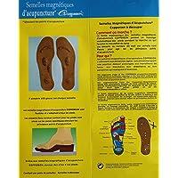 Original Wellness Akupressur Feet Magnetsohle Magnetische Einlegesohlen für Damen + Herren Energetix 4you 3009... preisvergleich bei billige-tabletten.eu