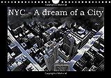 NYC - A dream of a city / UK-Version (Wall Calendar 2015 DIN A4 Landscape) (Calvendo Places)