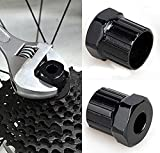 2 PCS Bike Cassette Freewheel Lockring Remover Free Hub Spanner Bike Removal Repair Tool