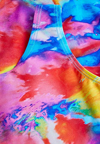 next Mädchen Sportbadeanzug Mehrfachdruck 12 Jahre - Getrimmt Rock Anzug