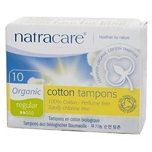 Natracare Organic Tampons Regular 20 per pack