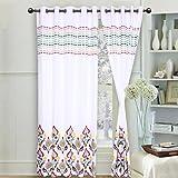 Elan cotton curtains Moroccon Theme Prin...