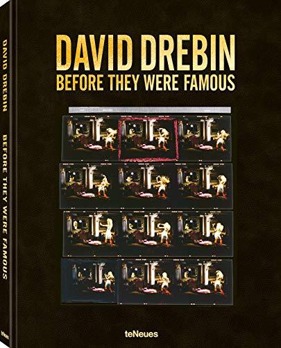 Before They Were Famous, Ein Buch mit einzigartigen Polaroids und Kontaktabzügen, die die Karriereanfänge von David Drebin und seinen Protagonisten ... Deutsch und Englisch) - 25x32 cm, 200 Seiten - Polaroid 32