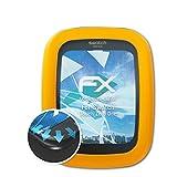 atFoliX Schutzfolie für Swatch Touch Zero One Folie - 3 x FX-Curved-Clear Flexible Displayschutzfolie für gewölbte Displays - vollflächiger Schutz bis zum Rand