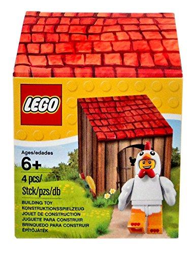 Lego Ostern 2016 - 5004468 Mann im Hühnerkostüm mit kleinem Häuschen - NEUHEIT 2016 - Chicken suit Guy (Guy Kostüme 2017)