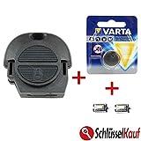 NISSAN Schlüssel gehäuse Reparatur SET Funk Fernbedienung Ersatz Primera Almera Micra Terrano Patrol X-TRAIL + Batterie + Mikrotaster Neu