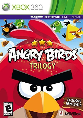 Angry Birds Trilogy - Xbox 360 by Activision (Angry Birds Xbox 360)