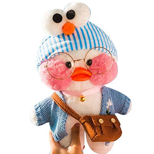 YRBB Plüschtier Baby Neue Kawaii Ente Plüschtier Niedlichen Tier Gelbe Ente Weiches Haar Puppe Spielzeug Weihnachten Geburtstagsgeschenk Kinder Mädchen Dekoration