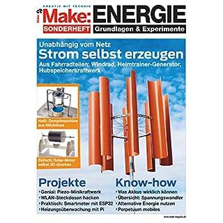 Make: Sonderheft 2018: ENERGIE (German Edition)