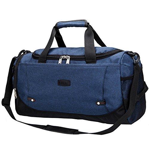Reisetaschen Männer Und Frauen Bergsteigen Taschen Große Gepäcktaschen Reisepakete Reisetaschen Outdoor-Taschen Blue