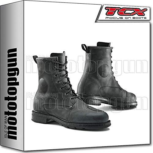 TCX Scarpe Stivali Moto 7300W X-Blend Waterproof Nero tg 43/9