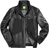 BOSS Green Herren Jacke Jack modisches Langarmoberteil Uni & Uninah, Größe: L, Farbe: Schwarz