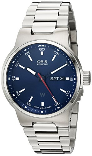 Oris Williams F1 de los hombres de 'Swiss automático reloj de acero inoxidable, color: silver-toned (modelo: 73577164155 MB)