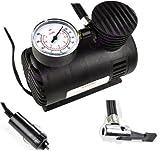 Great Value-Compressore 12 V-Pompa elettrica portatile 250PSI pressione di gonfiaggio con manometro per pneumatici per auto/bici-Materassino gonfiabile da piscina