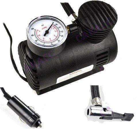 Great Value compressore d' aria strumento elettrico 12V portatile pneumatico pompa di gonfiaggio-250PSI con pressione manometro da gonfiare auto/bicicletta pneumatico, materassino/piscina