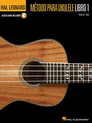 Hal Leonard Ukulele Method (Book & Audio Online) por Lil' Rev