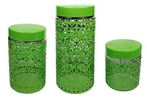3 er Vorratsdosenset Vorratsdose Vorratsbehälter Frischhaltedose Aufbewahrung Kaffeedose Glas...