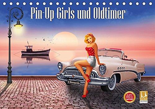 Pin-Up Girls und Oldtimer by Mausopardia (Tischkalender 2019 DIN A5 quer): Sexy Pin-Up Girls und kultige Oldtimer im Retro Style der 60er Jahre. (Monatskalender, 14 Seiten ) (CALVENDO Menschen)