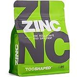Compresse di ZINCO (bisglicinato) – 25 mg (dose elevata) – massima biodisponibilità – 365 compresse vegane, un anno intero di fornitura da TOOSHAPED
