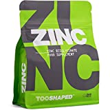 ZINC - Compresse di zinco bisglicinato 25 mg (dose elevata) – massima biodisponibilità – 365 compresse vegane, fornitura di un anno da TOOSHAPED