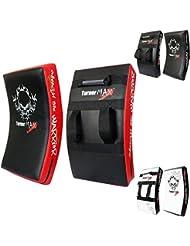 TurnerMAX Kick Escudo MMA boxeo almohadilla Huelga rojo / negro