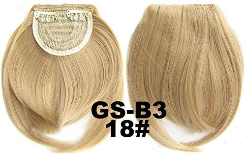 # 18 100% fibre synthétique haute température Clip dans/sur cheveux avant frange frange cheveux