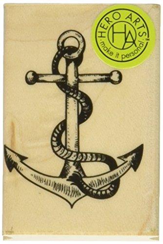 hero-arts-wood-mounted-sello-de-caucho-125x-2-inch-anchor