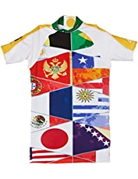 4BB2 Shirt Brasilia - Camiseta con protección solar, color multicolor, talla DE: 18 meses