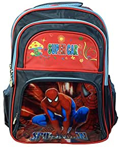 Spider Man School Bag Size : 13.5