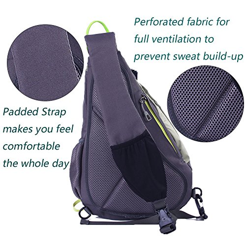 EGOGO Multi-functional Sling Pack Backpack Cross body Pack Shoulder ... 326738d50d577