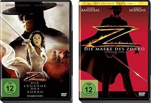 Bild von Die Legende des Zorro & Die Maske des Zorro mit Antonio Banderas und Catherine Zeta-Jones im Set - Deutsche Originalware [2 DVDs]