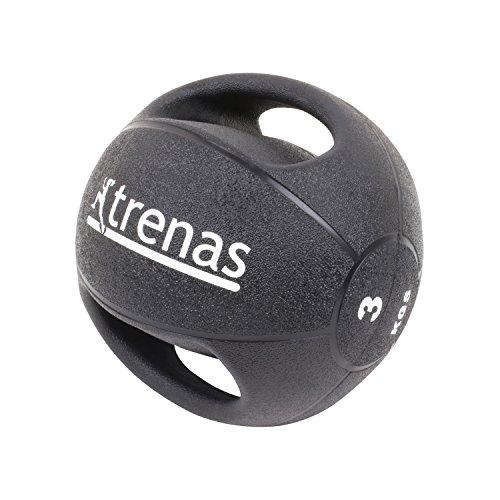 #TRENAS Medizinball mit Handgriffen PRO – 3 kg#