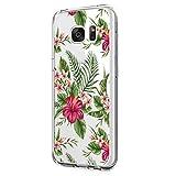 Pacyer Samsung Galaxy S6 Edge Plus Hülle, TPU Silikon Handyhülle Case [Schlank] Liquid Crystal Transparent Blumen Design Netter Süßigkeit Baum SchutzHülle für Samsung Galaxy S6 Edge Plus Cover (4)