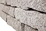 Granit Mauersteine gespalten, ca. 10/20 / 40 cm, 750 Kg im Big Bag