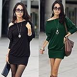 6.Farbige 3492 Bluse Tunika Pullover Longshirt Sweatshirt Mini Kleid