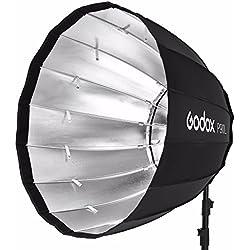 en stock Godox Portable P90l 90cm de profondeur parabolique Boîte à lumière Bowens support Flash de studio Speedlite Réflecteur Studio photo Boîte à lumière