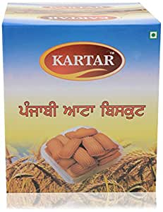 Kartar Punjabi Atta Biscuits (2 kg)