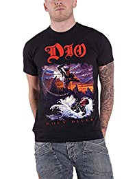Dio T Shirt Holy Diver Album Cover Ronnie James Official Mens Black