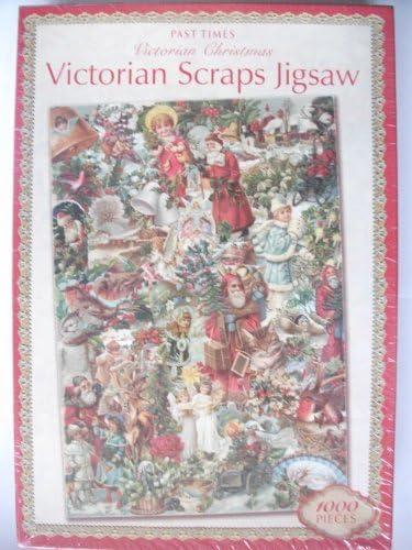 Past Times Victorian Scraps Victorian Christmas Jigsaw Puzzle 1000 Pieces | Durable Dans L'utilisation