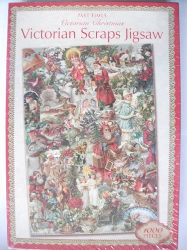 Victorian Scraps Victorian Christmas Jigsaw Puzzle Past Times 1000 Pieces by Past Times (Puzzle Victorian Christmas)