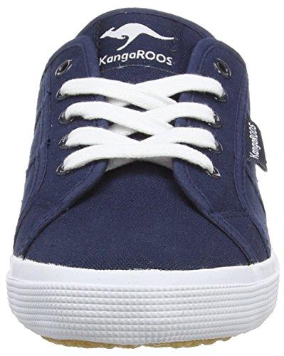KangaROOS Voyage, Baskets Basses Femme Bleu - Blau (dk.navy 460)