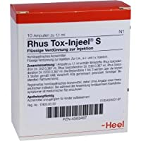 RHUS TOX INJEEL S Ampullen 10 St preisvergleich bei billige-tabletten.eu