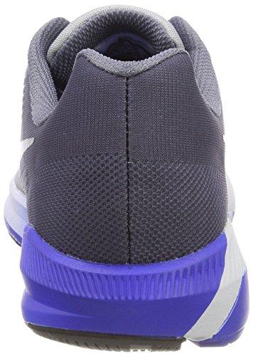 buy online b9c70 92fc7 ... Nike Air Zoom Structure 21, Écharpe De Running Uomo Grigio (gris Loup    Noir ...