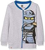 Lego Wear Jungen Sweatjacke Lego Boy Ninjago CM-73121, Grau (Grey Melange 921), 122